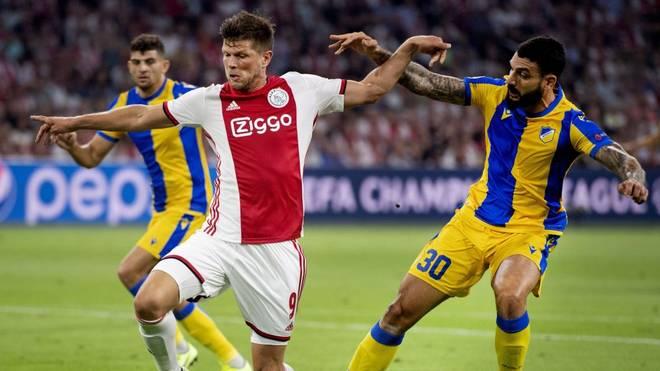 Ajax Amsterdam qualifizierte sich für die Gruppenphase der Champions League