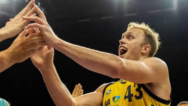 ALBA-Spieler Luke Sikma freut sich ganz besonders auf das Pokalduell