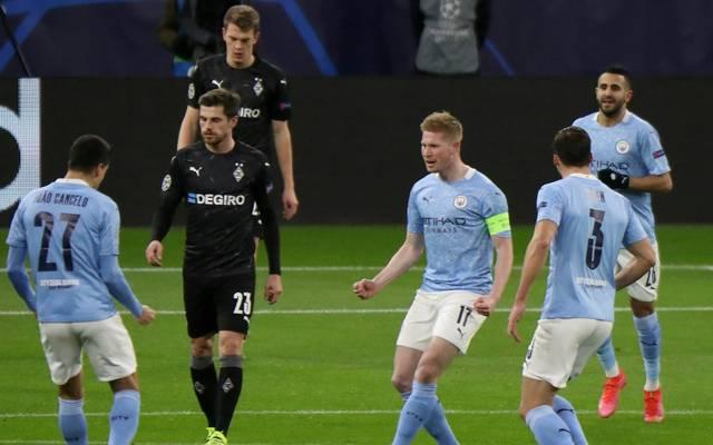 Borussia Mönchengladbach unterliegt Manchester City 0:2