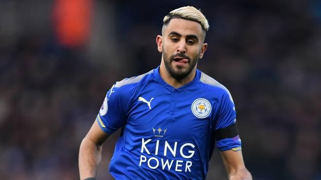 Leicester City möchte von Manchester City 85 Millionen Euro für Riyad Mahrez