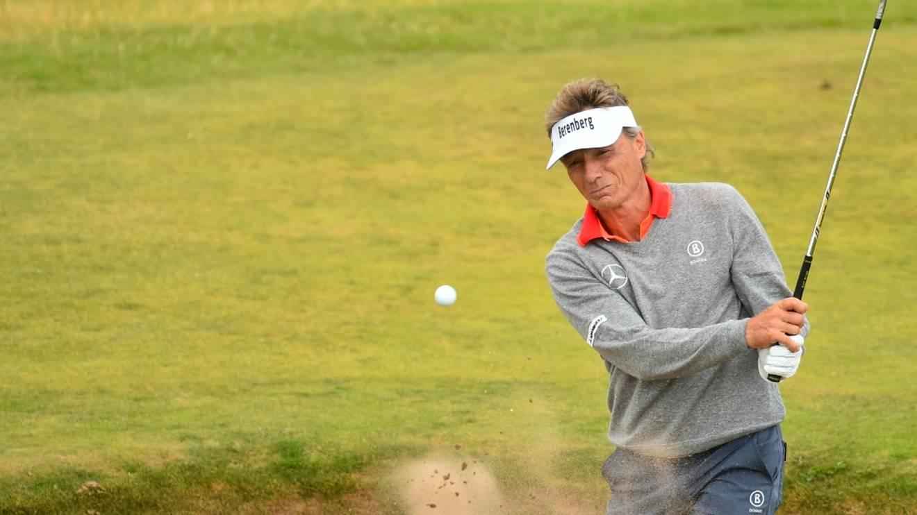 Deutschlands Golf-Idol Bernhard Langer