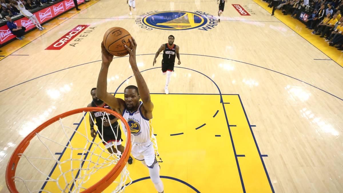 Kevin Durant von den Golden State Warriors