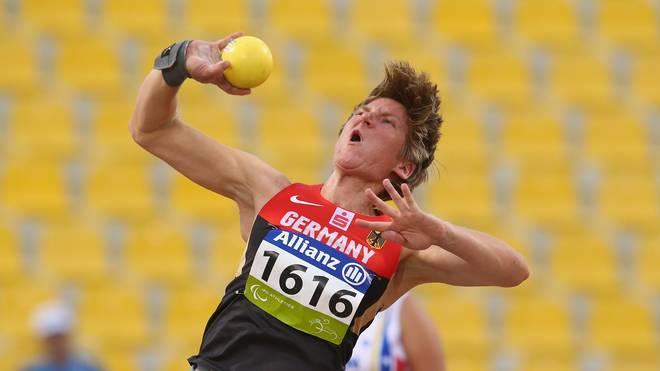 Franziska Liebhardt verbesserte ihren eigenen Weltrekord