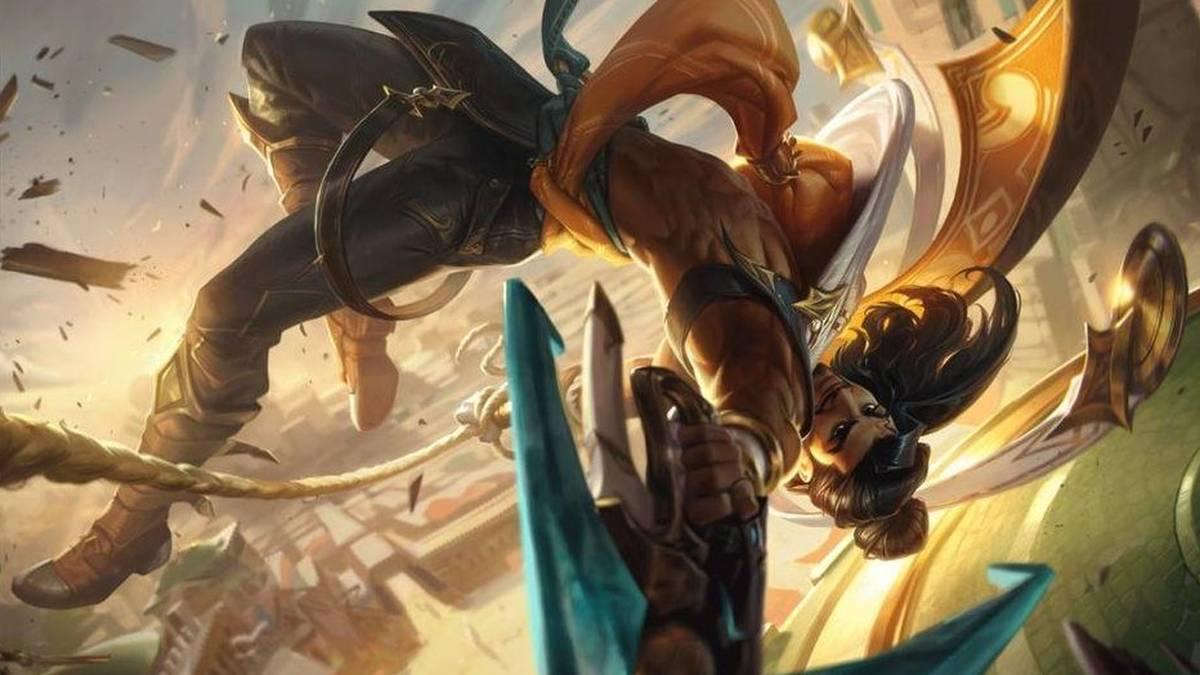 Hat Riot versehentlich das neue Splash Art zum kommenden Champion Akshan veröffentlicht? Bald dürften wir mehr wissen