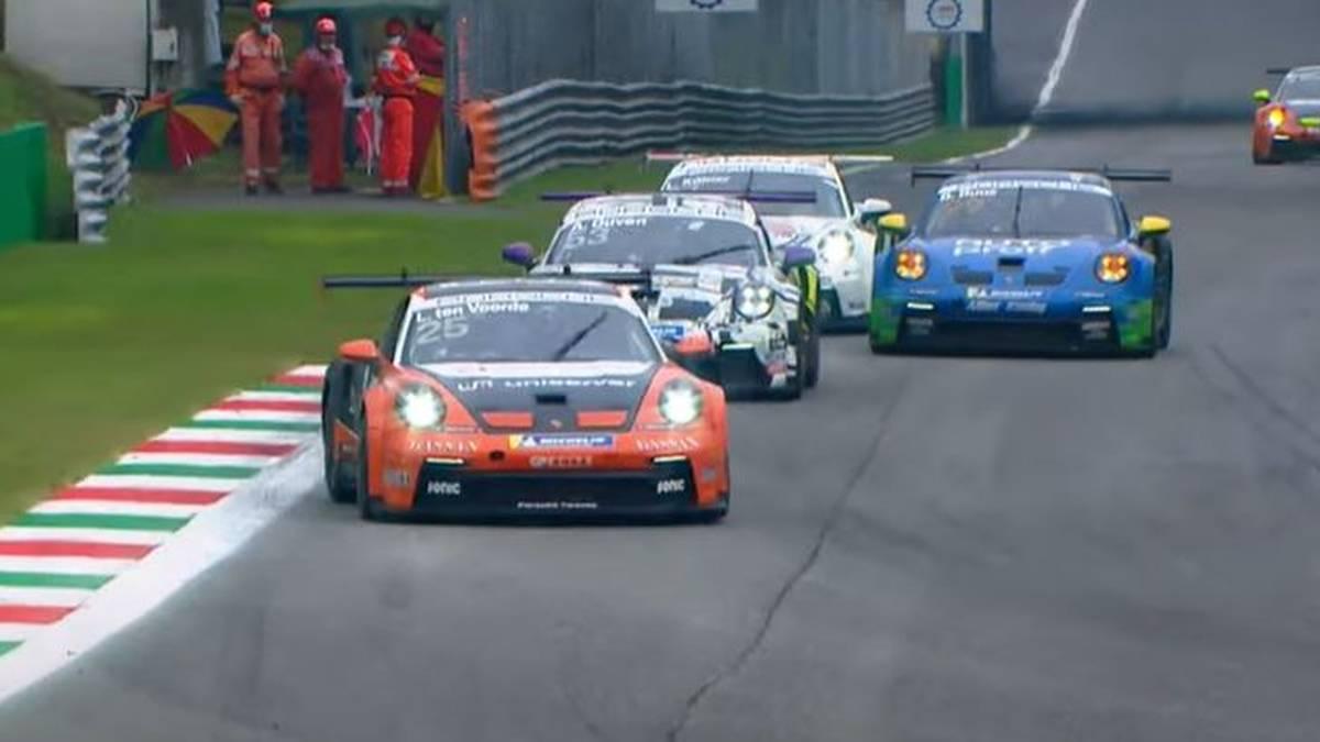 Larry ten Voorde gewann das zweite Rennen in Monza