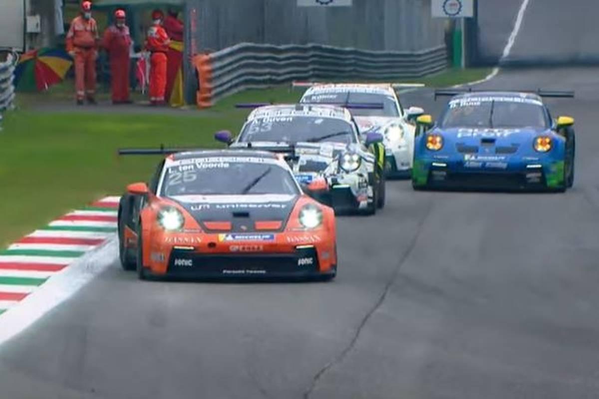 Larry ten Voorde baut seinen Vorsprung im Porsche Carrera Cup aus. Der Niederländer gewinnt ein packendes Duell mit Vortagessieger Ayhancan Güven.