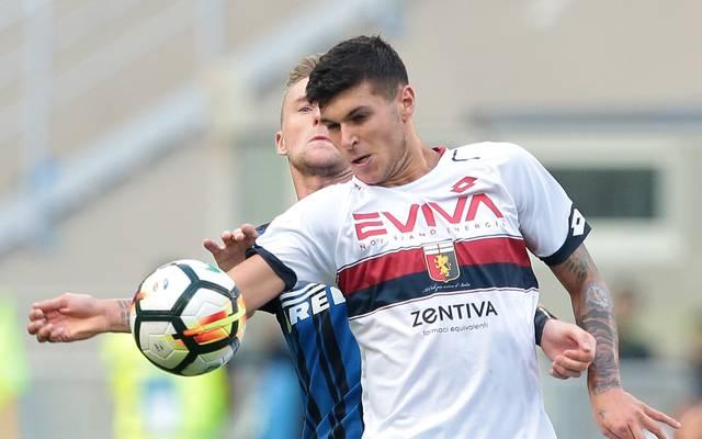 Pietro Pellegri debütierte mit 15 Jahren in der Serie A