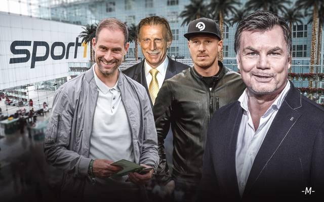 Thomas Helmer empfängt Oliver Mintzlaff, Christoph Daum und Mike Hanke im CHECK24 Doppelpass