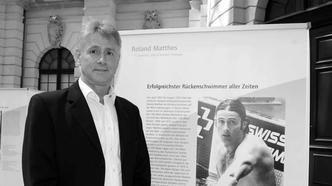 Roland Matthes ist im Alter von 69 Jahren verstorben