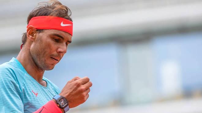 Rafael Nadal trug die teure Uhr auch in seinem Match gegen Mackenzie McDonald