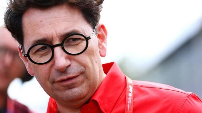 Ferrari-Teamchef Mattia Binotto