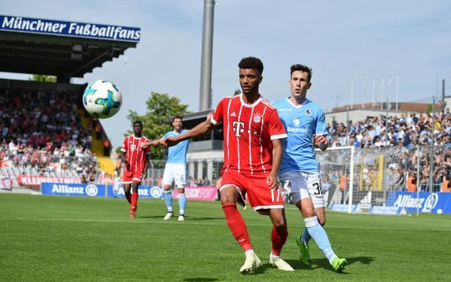 Die zweite Mannschaft der Bayern und die Löwen spielen aktuell im Grünwalder Stadion
