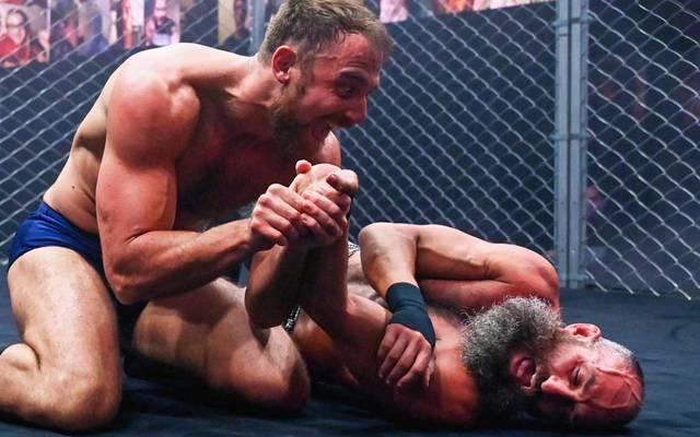 Timothy Thatcher (l.) und Tommaso Ciampa werden bei WWE von Rivalen zu Partnern
