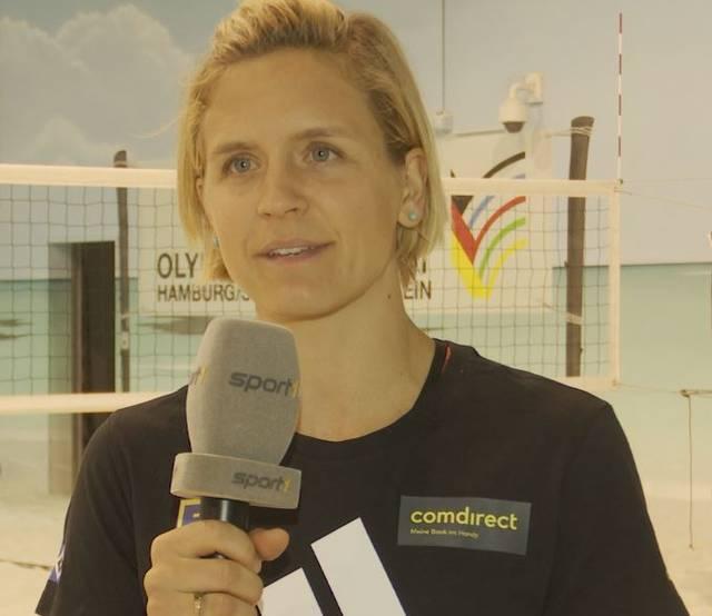 Laura Ludwig im Gespräch mit SPORT1