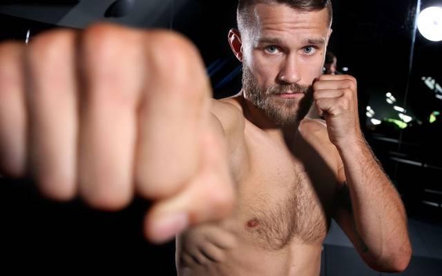 Niklas Stolze feiert seine Premiere im UFC-Käfig