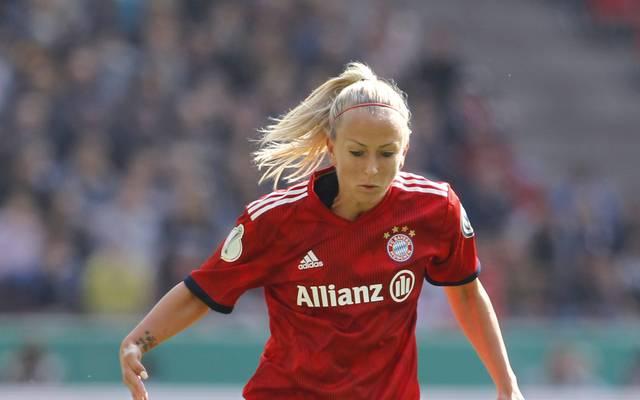 Mandy Islacker trifft mit dem FC Bayern auf Turbine Potsdam