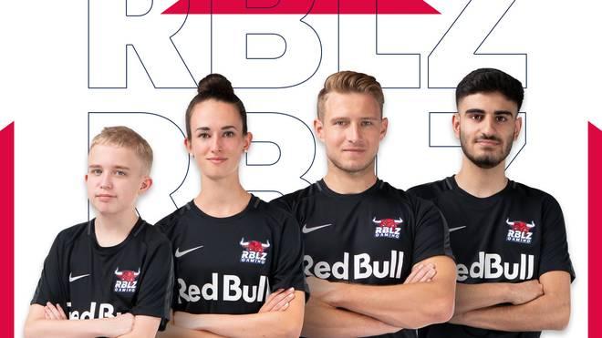 """Das sind die """"Rebelz"""" von RBLZ Gaming, der eSports-Abteilung bei RB Leipzig"""