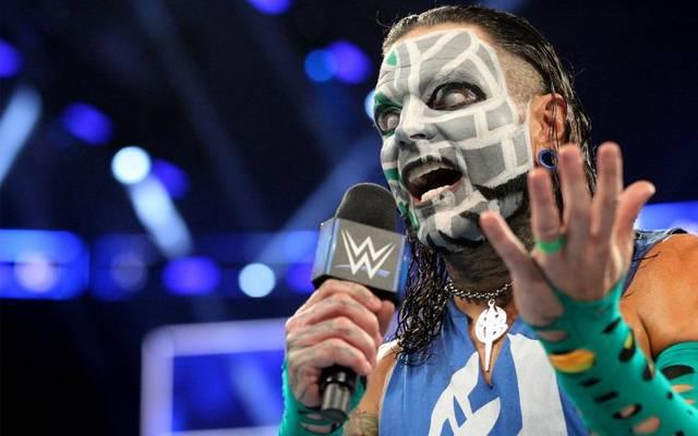 Jeff Hardy kehrte 2017 nach fast acht Jahren zu WWE zurück
