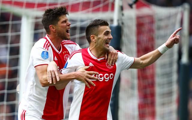 Dusan Tadic (r.) spielt seit 2018 für Ajax Amsterdam