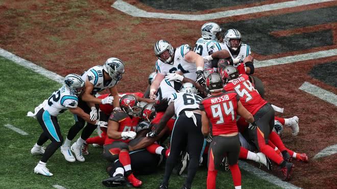 Panthers schlagen Bucs in London