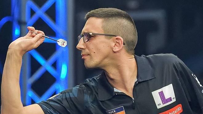 Robert Marijanovic arbeitet unter anderem auch für SPORT1 als Darts-Experte