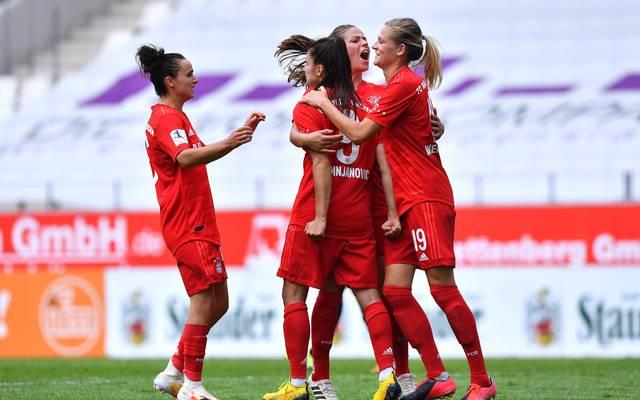 Die Frauen-Mannschaft des FCB fährt einen wichtigen Sieg ein