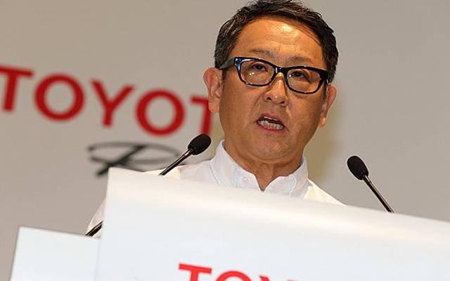 Akio Toyoda wandte sich mit warmen Worten an Mitarbeiter, Fans und Porsche