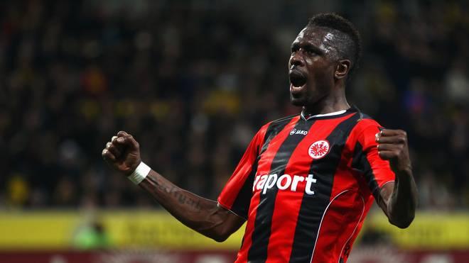 Mo Idrissou spielte ein Jahr bei Eintracht Frankfurt