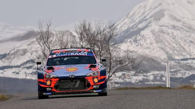 Für Ott Tänak ist die Rallye Monte Carlo beendet