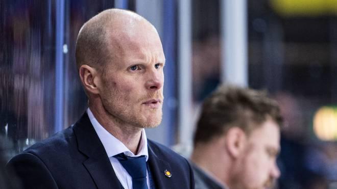 Bundestrainer Toni Söderholm hatte sich mit dem DEB-Team einiges vorgenommen