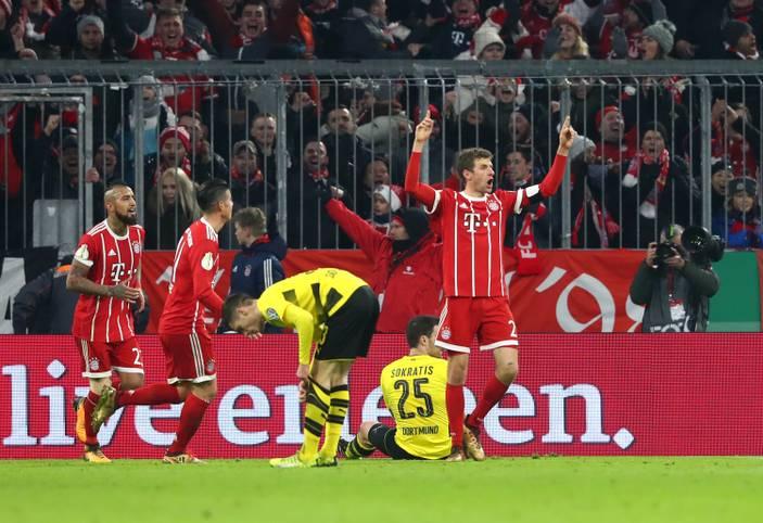 Der FC Bayern hat das Topspiel des DFB-Pokals mit 2:1 gegen Erzrivale Borussia Dortmund gewonnen und steht nun als klarer Favorit im Viertelfinale. Die Münchner in der SPORT1-Einzelkritik.
