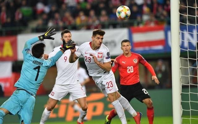 Österreich hat das erste Spiel gegen Polen verloren