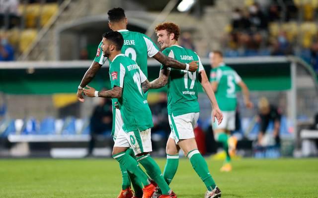 Sargent erlöst Werder im Pokal