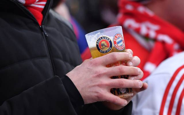 Der FC Bayern setzt in seinem Stadion auf Mehrwegbecher