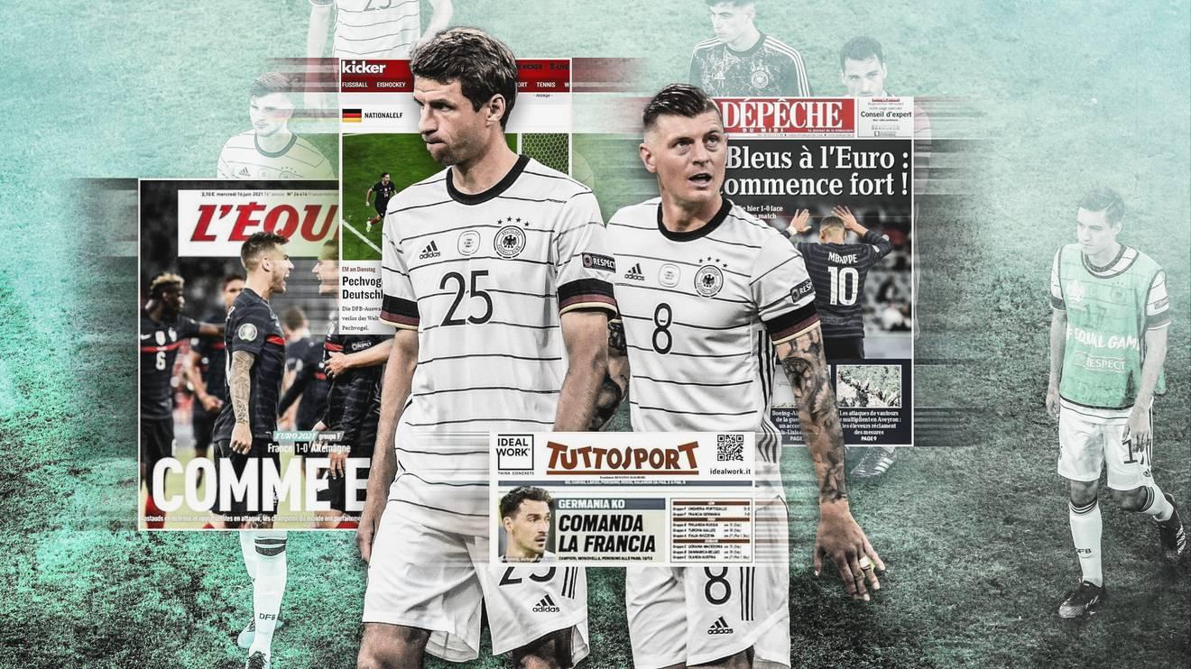 Die DFB-Elf verlor ihr erstes EM-Spiel gegen Frankreich