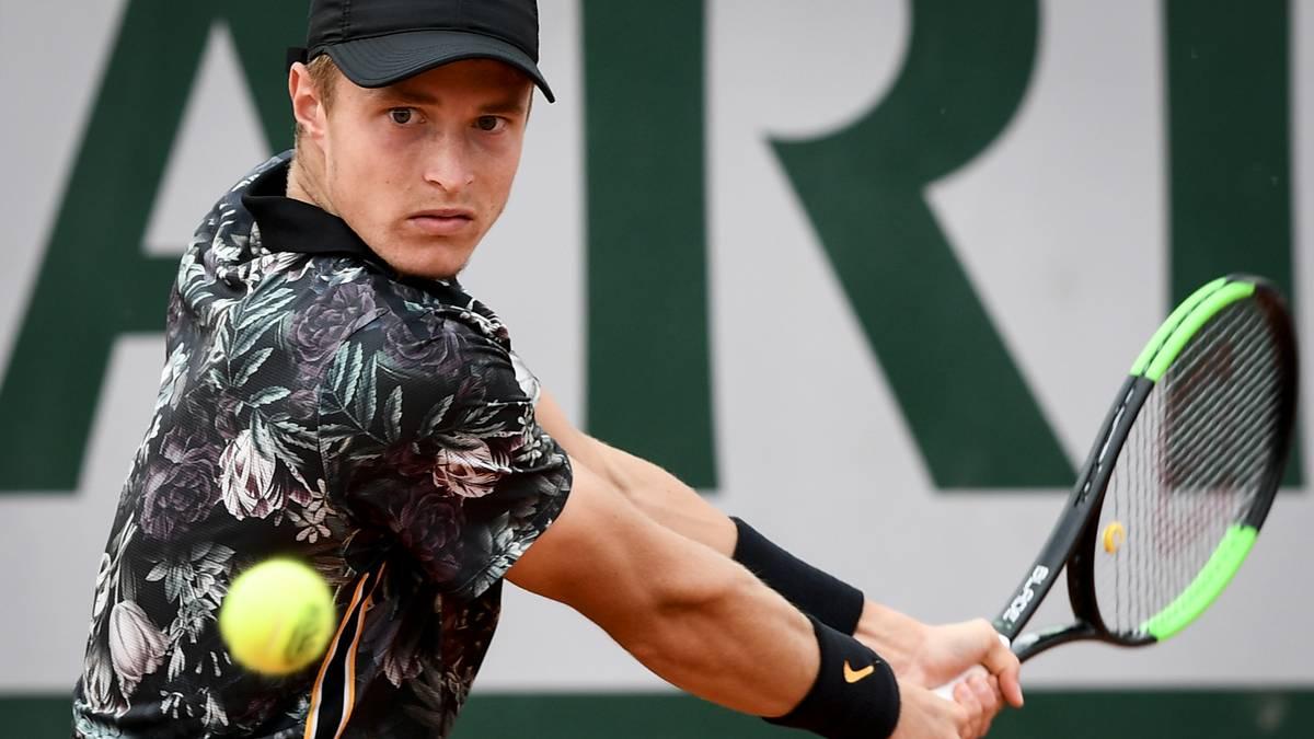 Rudi Molleker verpasst wohl das Grand-Slam-Turnier in Wimbledon