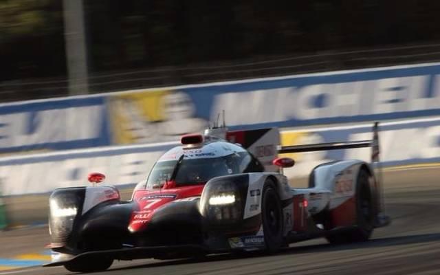 Bislang immer in Führung gefahren: Der Toyota von Sarrazin/Kobayashi/Conway