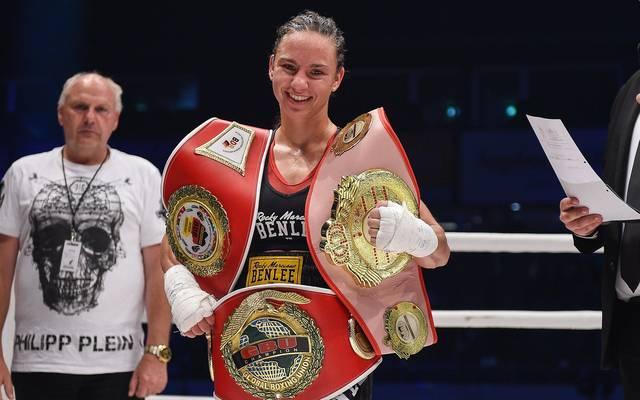 Boxen: Sarah Bormann verteidigt ihren Weltmeistertitel in Karlsruhe, Sarah Bormann wird bei der Box-Gala am 26. Januar gegen Sanae Jah verteidigen