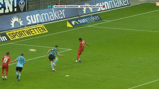 Malik Tillman schnürte gegen Mannheim einen Doppelpack