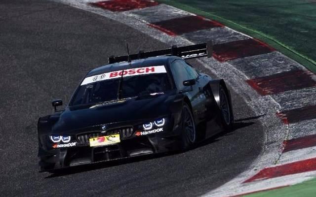Der neue BMW M4 DTM bei Testfahren in Vallelunga