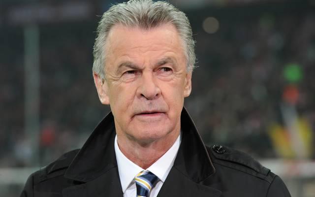 Ottmar Hitzfeld, former German football