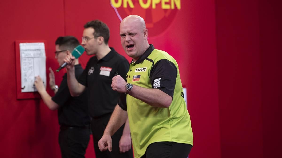 Michael van Gerwen hat die UK Open gewonnen