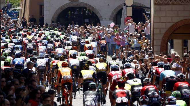 2018 beginnt der Giro d'Italia in Israel