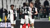 Matthijs de Ligt (r.) spielt seit dieser Saison für Juventus