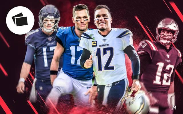 Tom Brady könnte die New England Patriots nach der Saison verlassen