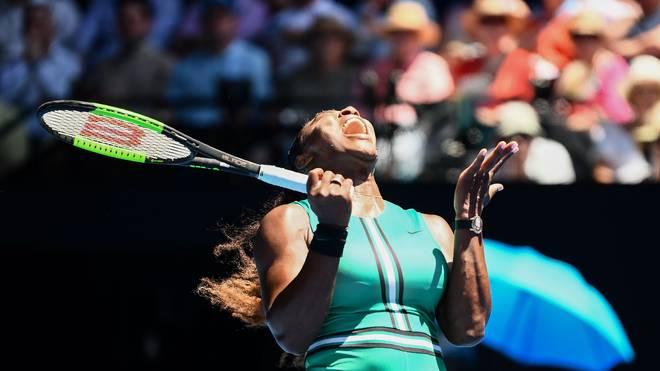 Serena Williams gewann bei den Australian Open 2017 ihren letzten Titel