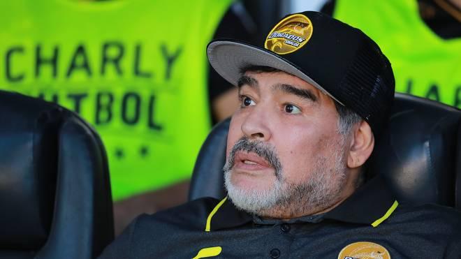 Diego Maradona ist bereits fünffacher Vater