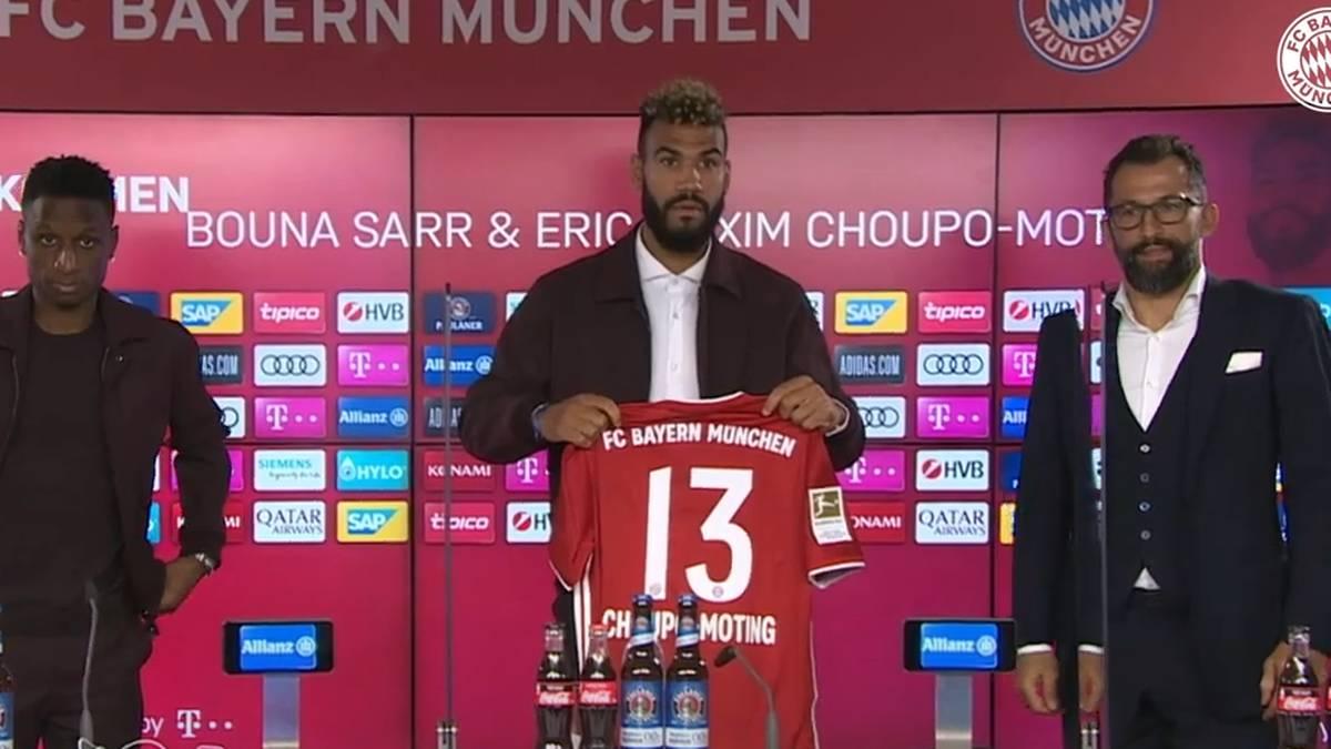 Eric Maxim Choupo-Moting wechselte von PSG zum FC Bayern
