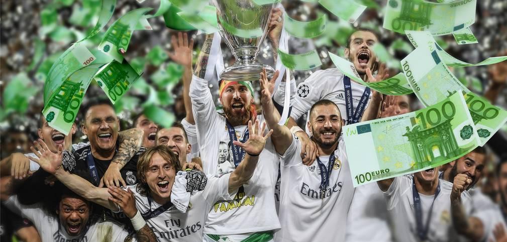 Es ist ein lukratives Geschäft: Die Champions League lockt mit satten Prämien für die Klubs.  Real Madrid belohnte sich vergangene Saison nicht nur mit dem Pokal, sondern auch mit einer satten Stange Geld. SPORT1 zeigt, wie viel die Vereine pro Runde verdienen können