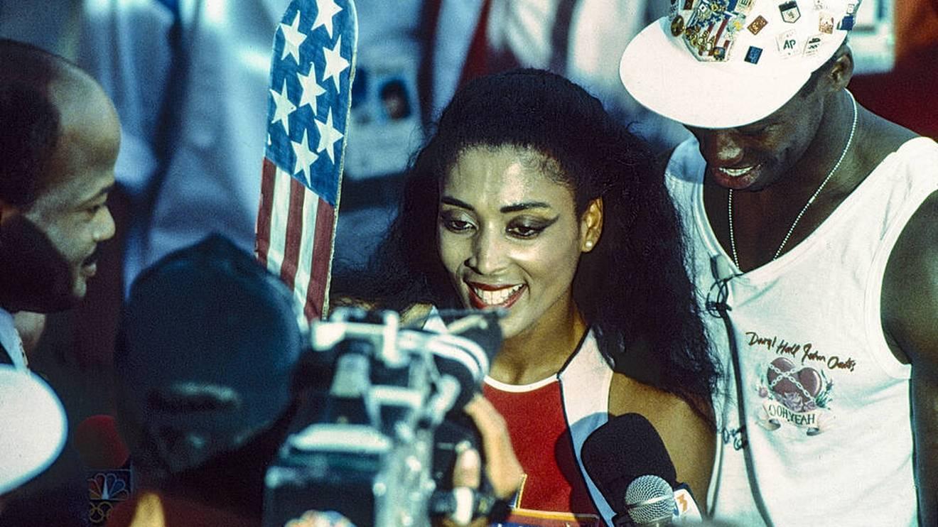 Florence Griffith Joyner war der Superstar von Seoul 1988
